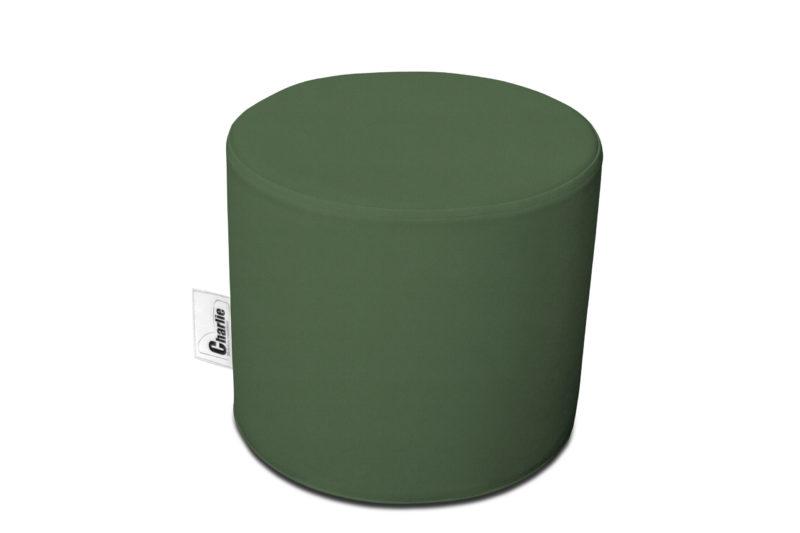 pouf extérieur vert olive