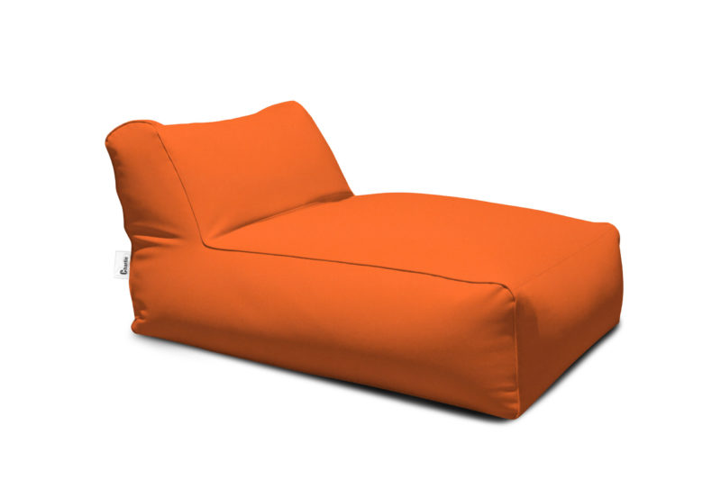 méridienne extérieure orange