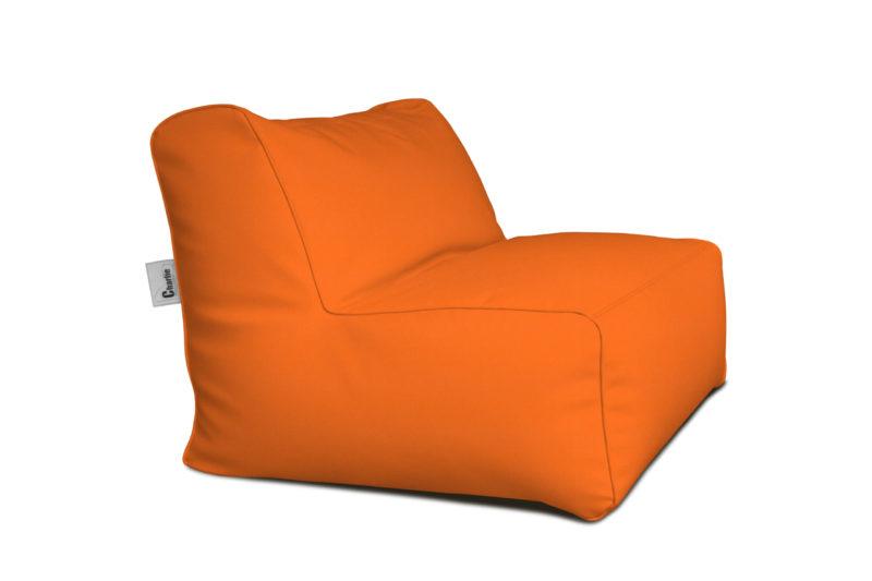 chauffeuse extérieure orange