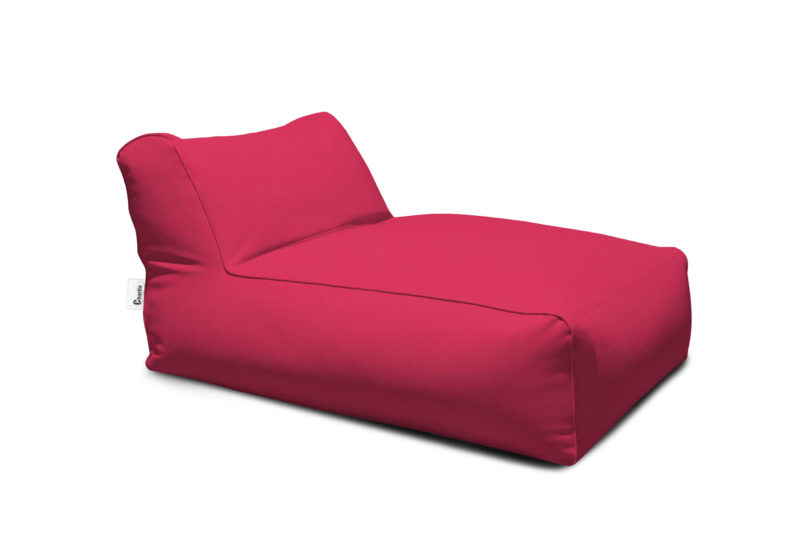méridienne extérieure rose