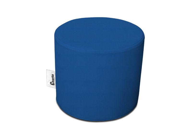 pouf extérieur bleu foncé