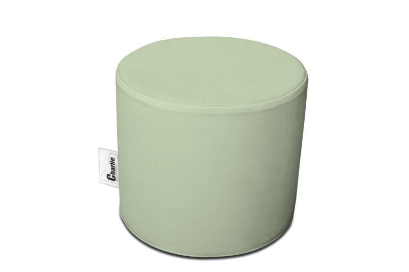 pouf extérieur vert clair