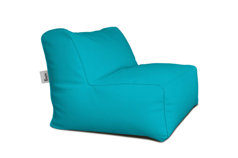 chauffeuse extérieure turquoise