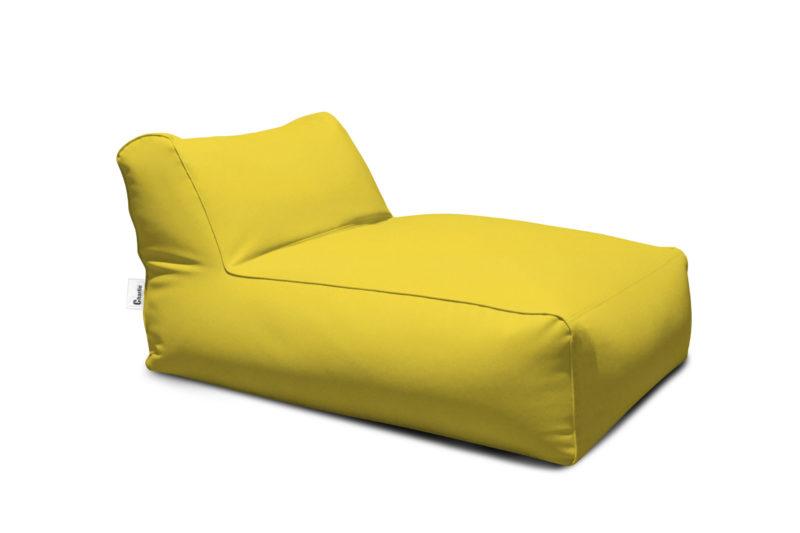 méridienne extérieure jaune