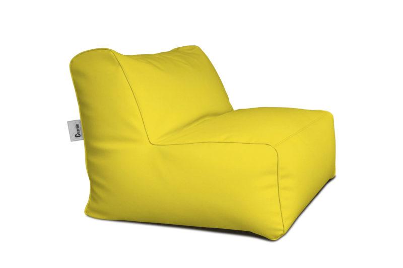chauffeuse extérieure jaune