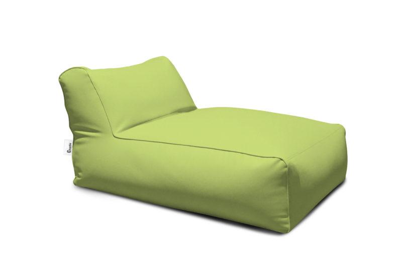 méridienne extérieure verte