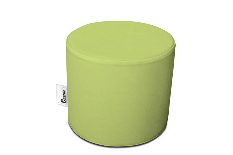 pouf extérieur vert